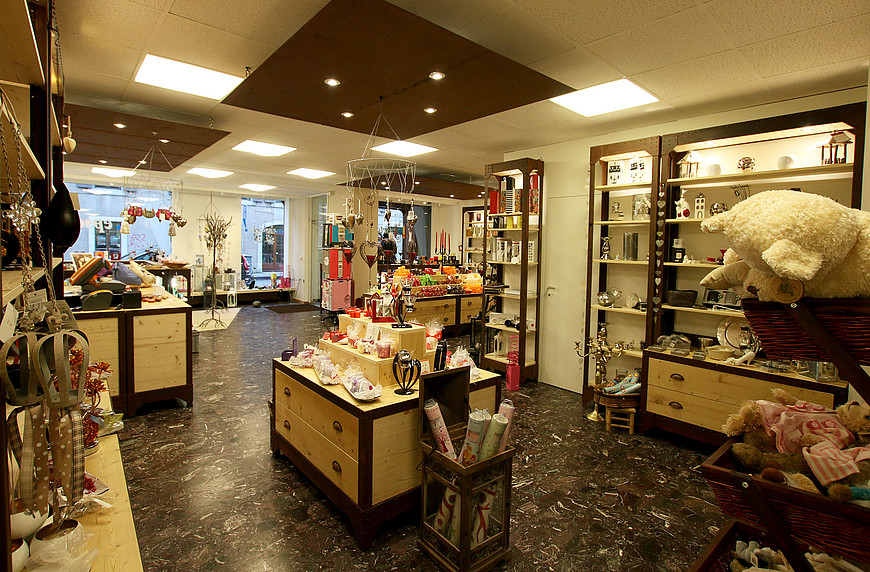 Photo intérieur de la boutique Epsetera de Carouge